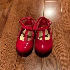 Gap shoes- Shiny Red size 6